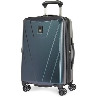 """Travelpro Maxlite4 -Black Green 25"""" ABS Fabric Expandable Hardside Spinner w/ 2"""" Expansion Capacity"""