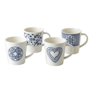 Link to Blue Love Mug 16.5 Oz Set/4 Mixed Similar Items in Dinnerware
