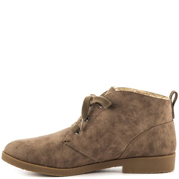 Indigo Rd. Womens Auburn Closed Toe Ankle Fashion Boots