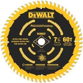 """DeWalt 60T 7-1/4"""" Blade"""