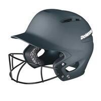 DeMarini Paradox Pro Fitted Adult Batting Helmet w Mask, WTD5421