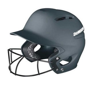 DeMarini Paradox Pro Fitted Adult Batting Helmet w Mask, WTD5421 (More options available)