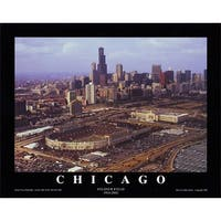 ''Chicago, Illinois - Soldier Field 1924-2002'' by Mike Smith Photography Art Print (8 x 10 in.)