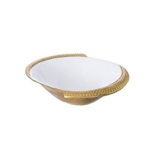 Medium Gold Enamel Bowl