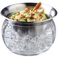 Prodyne IC-6 Stainless Steel Bowl And Dip Cup On Ice, 22 Oz - Thumbnail 0