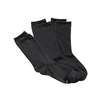 Hanes Women's ComfortSoft Crew Socks 3-Pack - 9-11