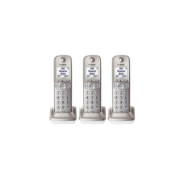 Panasonic KX-TGDA20N 3 Pack Additional Digital Cordless Handset