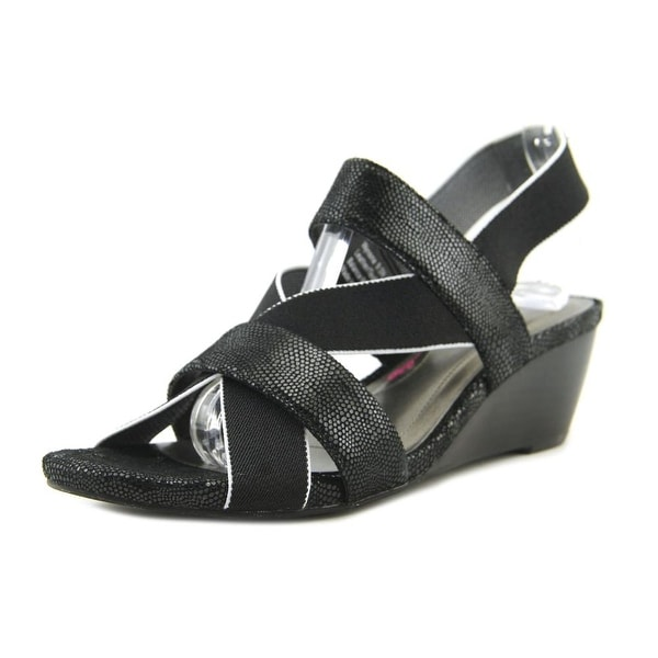 Ros Hommerson Wynona Black Combo Sandals