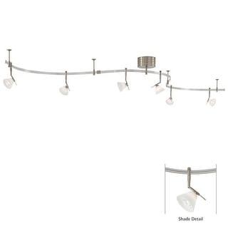 Kovacs GK P4086-1 6 Light Contemporary / Modern Monorail Track Light Kit from the GK LIGHTRAIL Series