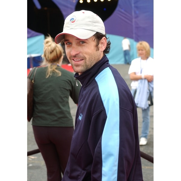 Actor Patrick Dempsey At The Hbo All Star Family Sports Jam June 19 2004 Santa Monica Calif Celebrity