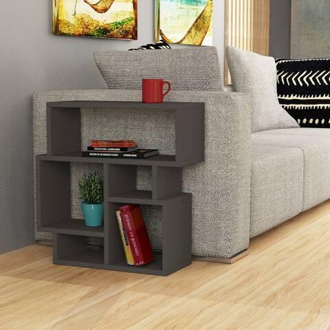 Porch & Den Celilo Wood Side Table