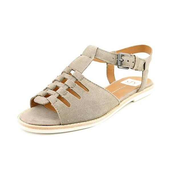 DV by Dolce Vita Women's Nanette Suede Flat Gladiator Sandals