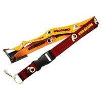 Washington Redskins Reversible Lanyard Keychain Ticket ID Holder
