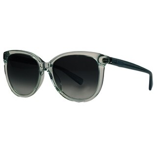 Calvin Klein CK4185/S 162 Acqua Clear Round Sunglasses