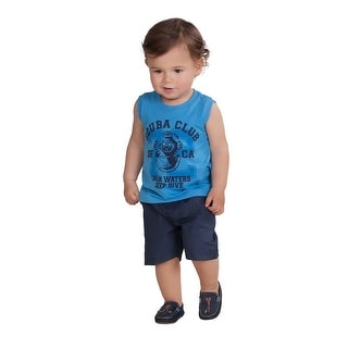 Pulla Bulla Baby Boy Sleeveless Shirt Graphic Tank Top