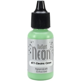 Radiant Neon Ink Refill .5Oz-Electric Green