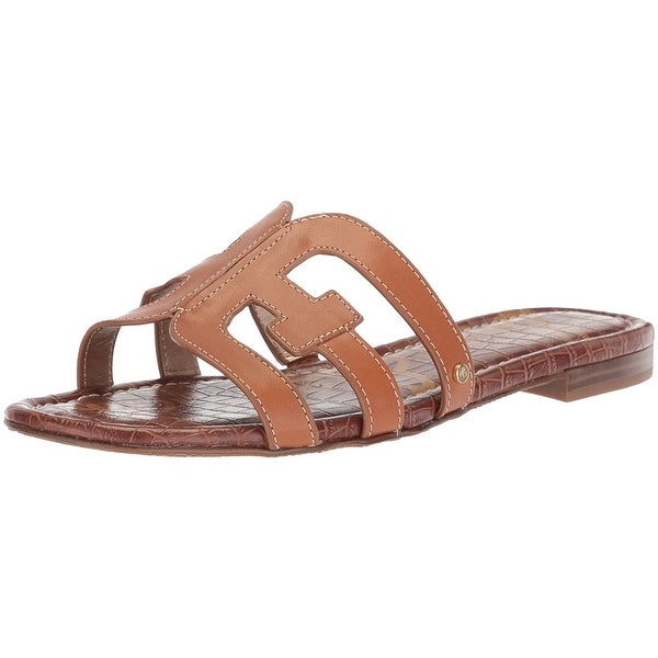 623a0075c674 Shop Sam Edelman Womens Bay Open Toe Casual Slide Sandals - Free Shipping  Today - Overstock - 21622005