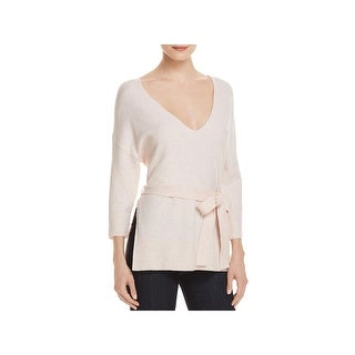 French Connection Womens Rosa Pullover Sweater V-Neck Dolman Sleeves