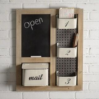 Mail Organizer & Chalkboard