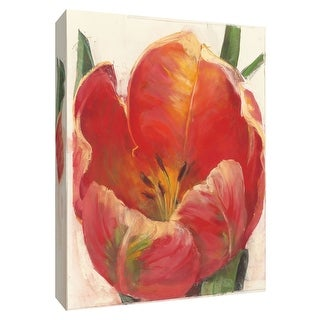 "PTM Images 9-154240  PTM Canvas Collection 10"" x 8"" - ""Parrot Tulip"" Giclee Tulips Art Print on Canvas"