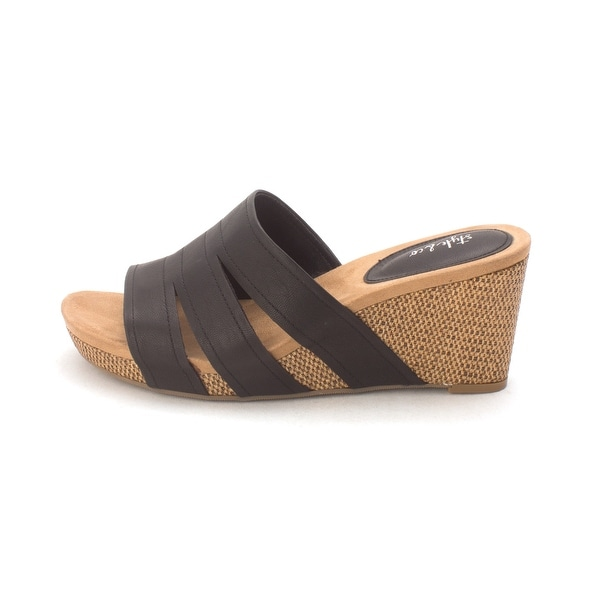 6a72212d605 Shop Style   Co. Womens juliaap Open Toe Casual Mule Sandals - Free ...