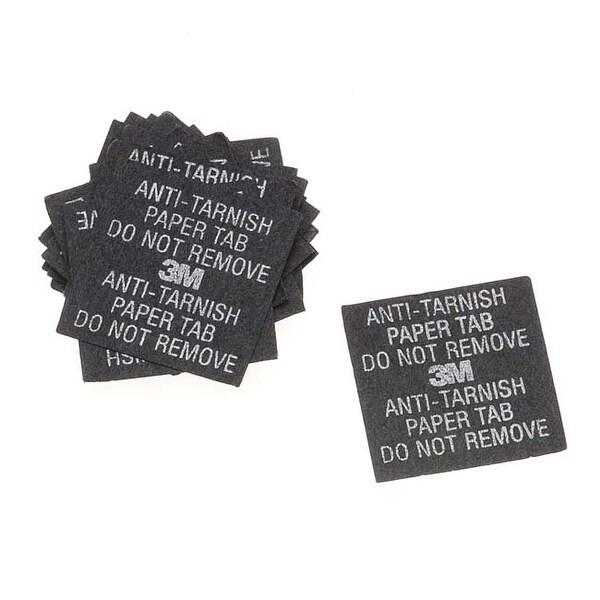 3M Anti-Tarnish Paper Tabs 1x1 Inch Square (100 Tabs)