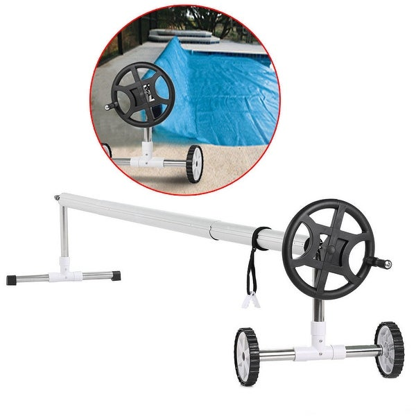 Shop ARKSEN Stainless Steel Inground Swimming Pool Cover Reel Up To ...