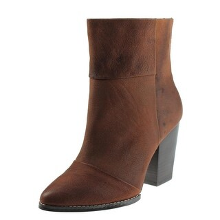 Kelsi Dagger Womens Zidane Ankle Boots Leather Almond Toe