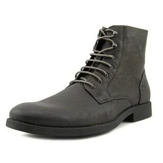 RW by Robert Wayne Ellis Men BLACK Boots