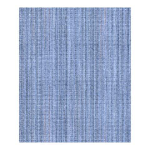 Audrey Blue Stripe Texture Wallpaper - 21 x 396 x 0.025