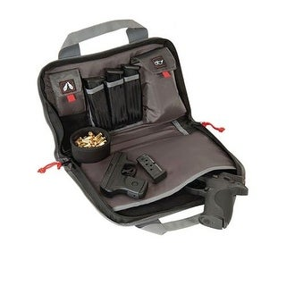 G-Outdoors G.P.S. Double Pistol Case Black GPS-1308PC - GPS-1308PC