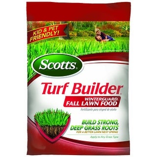 Scotts 38605A Turf Builder Winterguard Lawn Fertilizer, 5M