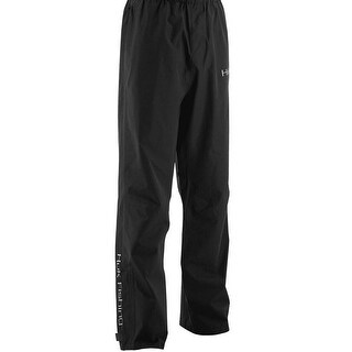 Huk Men's Performance Packable Large Black Packable Fishing Rain Pants