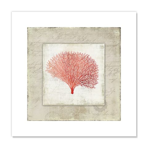 Coral Linen II - Red