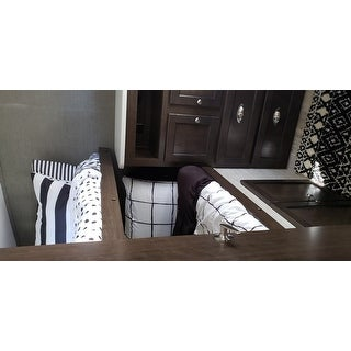 Mini Mod Striped Polka Dot Comforter Set