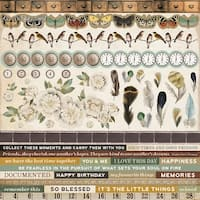 """Anthology Cardstock Stickers 12""""X12""""-"""