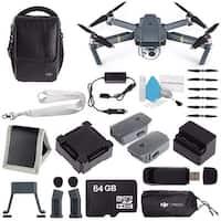 DJI Mavic Pro (Fly More Combo) CP.PT.000642 + DJI Aircraft Sleeve for Mavic Pro Quadcopter CP.PT.000666 Bundle