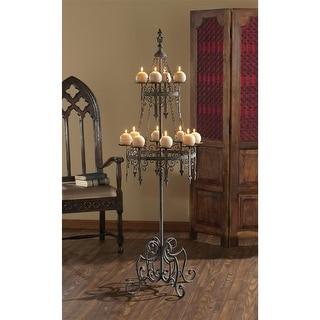 Design Toscano Malbark Castle Gothic Floor Candelabra