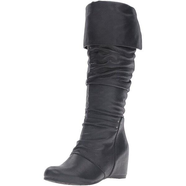Bare Traps Womens Valry Closed Toe Mid-Calf Fashion Boots