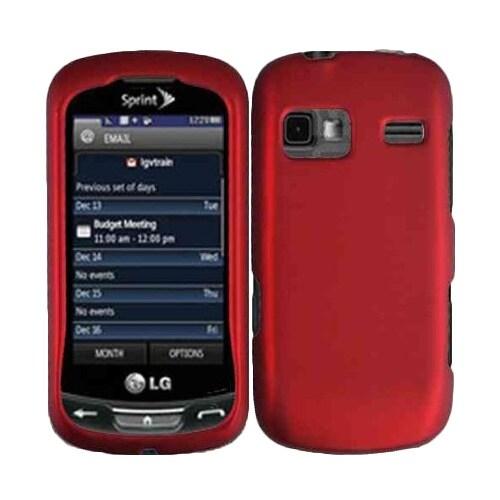 Sprint Hard Matte Case/Cover for LG Rumor Reflex LN272 (LG Freedom) Cell Phone