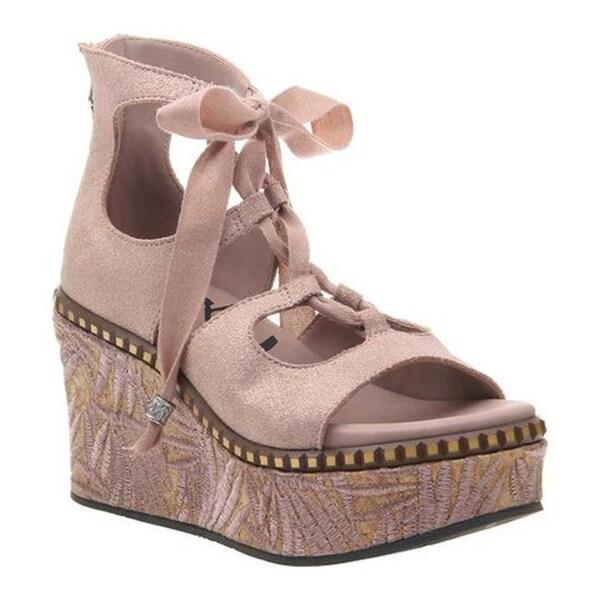 e32c27a54 Shop OTBT Women s Kentucky Gladiator Sandal Copper Metallic Suede ...