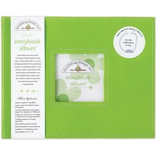 "Doodlebug Storybook Album 8""X8""-Limeade - Green"