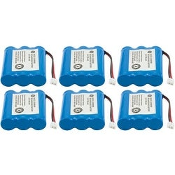 New Replacement Battery For AT&T 3300 Cordless Phone ( 6 Pack )
