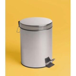 Bissonnet 639810 City 1.32 Gallon (5-Liter) Floor Standing Pedal Waste Bin