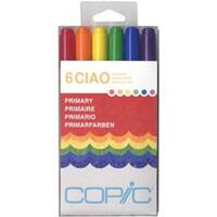 Primary - Copic Ciao Markers 6/Pkg