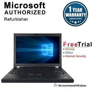 "Refurbished Lenovo ThinkPad T410 14.1"" Laptop Intel Core I5 520M 2.4G 4G DDR3 500G DVD Win 10 Professional 64 1 Year Warranty"
