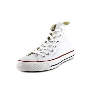 Converse Chuck Taylor Hi Round Toe Leather Sneakers