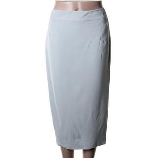 Raoul Womens Viscose Slit Pencil Skirt - 8