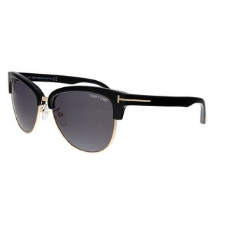 Tom Ford FT0368 01A Fany Black/Gold Clubmaster Sunglasses - no size
