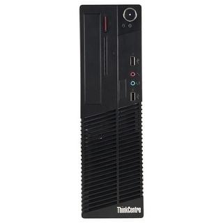 Refurbished Lenovo ThinkCentre M73 SFF Intel Core I5 4570 3.2G 8G DDR3 1TB DVD Win 10 Pro 1 Year Warranty - Black